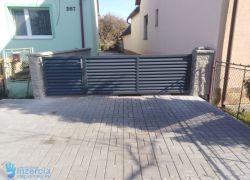 Predám zetkové plechové plotové lamely na bránu ploto plotové dielce